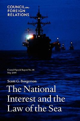 The National Interest and the Law of the Sea 9780876094310