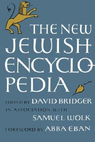 The New Jewish Encyclopedia 9780874411201