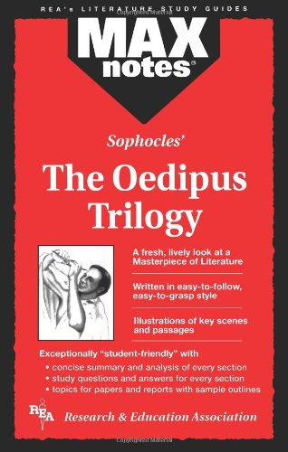 Oedipus Trilogy, the (Maxnotes Literature Guides) 9780878910366