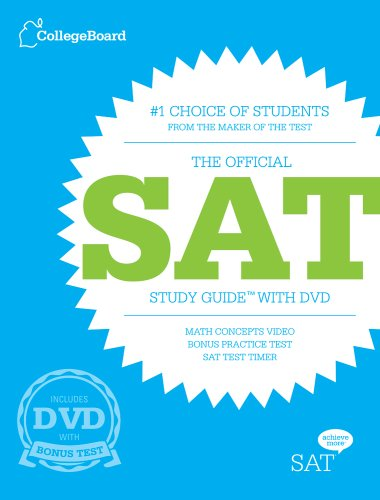 The Official SAT Study Guide [With DVD]