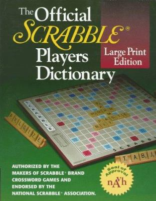 The Official Scrabble Players Dictionary 9780877796237