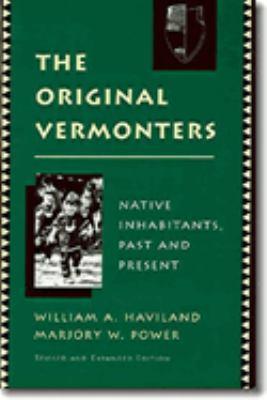 The Original Vermonters 9780874516678