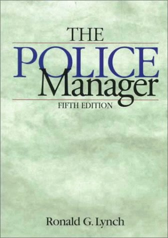 The Police Manager 9780870847103