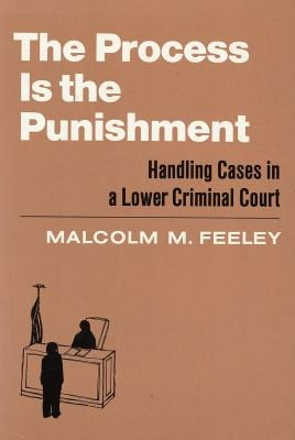 The Process is the Punishment: Handling Cases in a Lower Criminal Court 9780871542557