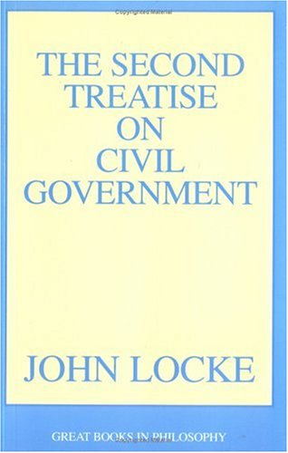 The Second Treatise of Civil Government 9780879753375