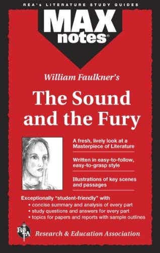 Sound and the Fury, the (Maxnotes Literature Guides) 9780878910472