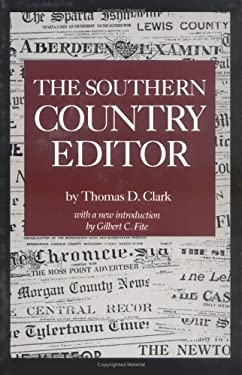 The Southern Country Editor 9780872497672