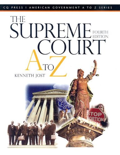 The Supreme Court A to Z 9780872893351