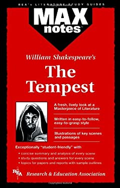 The Tempest (Maxnotes Literature Guides) 9780878910526
