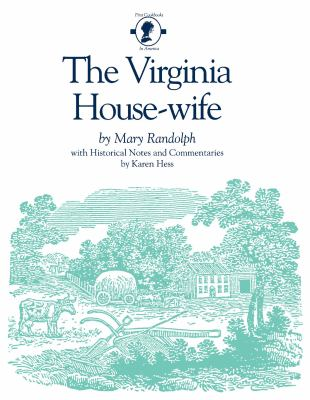 The Virginia House-Wife 9780872494237