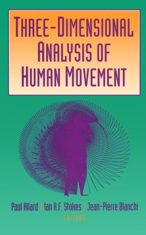 Three-Dimensional Analysis of Human Movement 9780873226233