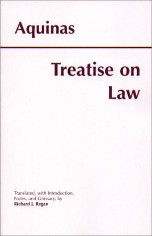 Treatise on Law 9780872205482