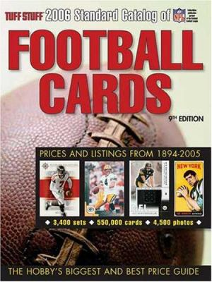 Tuff Stuff Standard Catalog of Football Cards 9780873499859
