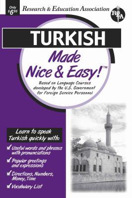 Turkish Made Nice & Easy 9780878913794