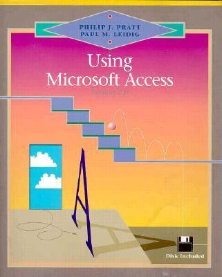 Using Microsoft Access, 2.0 9780877095651