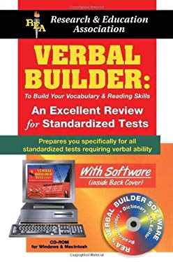 Verbal Builder for Admission and Standardized Tests W/ CD-ROM [With CDROM for Windows and Macintosh] 9780878911721