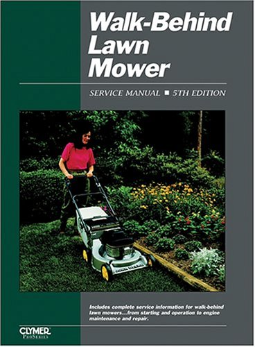Walk-Behind Lawn Mower Service Manual 9780872886476