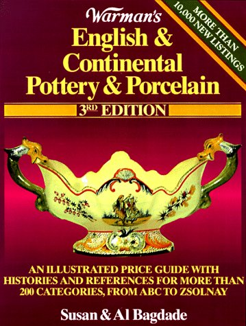 Warman's English & Continental Pottery & Porcelain 9780873416412