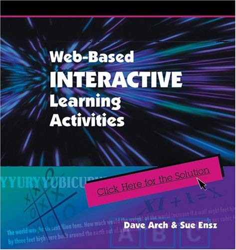 Web-Based Interactive Learning Activties 9780874256192