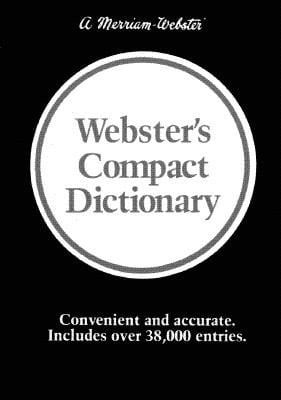 Webster's Compact Dictionary 9780877794882
