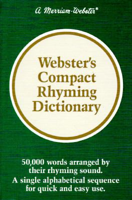 Webster's Compact Rhyming Dictionary 9780877791850