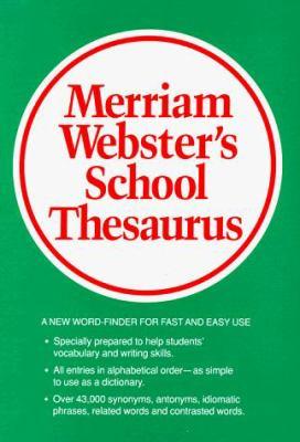 Webster's School Thesaurus