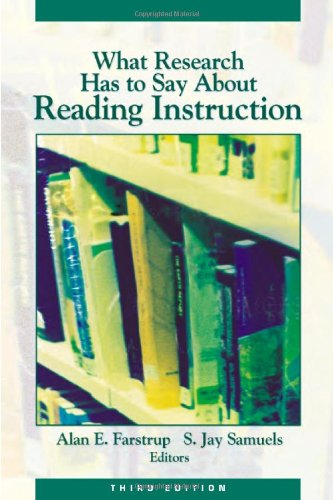 What Research Has to Say about Reading Instruction 9780872071773