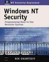 Windows NT Security: Programming Easy-To-Use Security Options with 3.5 Disk [With *] 3919384