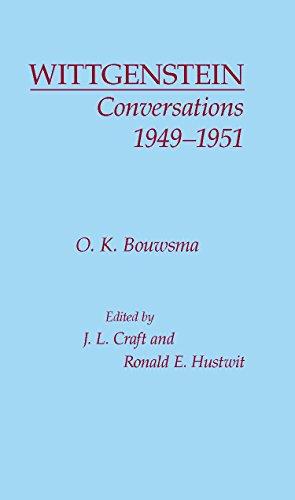 Wittgenstein Conversations 1949-1951 9780872200081