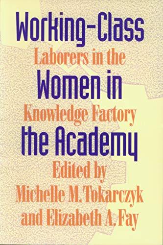 Working Class Women in the ACA 9780870238352