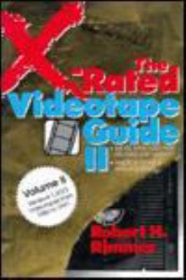 X-Rated Videotape Guide II 9780879756734