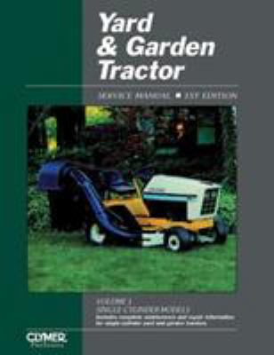 Yard and Garden Tractor Service Manual 9780872884687