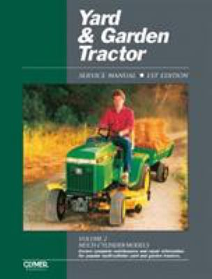 Yard and Garden Tractor Service Manual 9780872884694