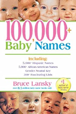 100,000+ Baby Names 9780881665079