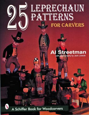 25 Leprechaun Patterns for Carvers 9780887409578
