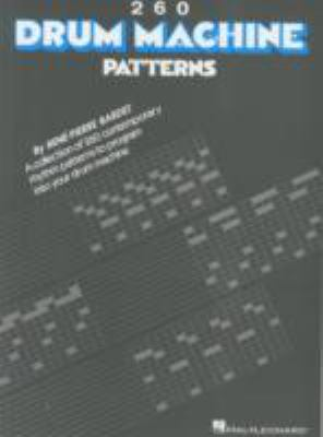 260 Drum Machine Patterns 9780881888874