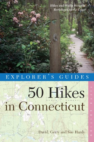 50 Hikes in Connecticut: Hikes and Walks from the Berkshires to the Coast 9780881504965
