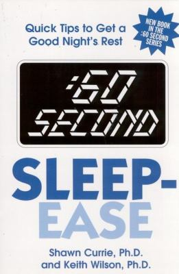 60 Second Sleep-Ease: Quick Tips for Getting a Good Night's Rest 9780882822129