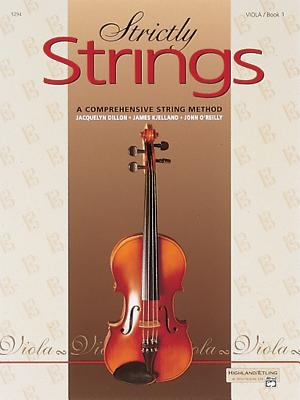 Strictly Strings, Bk 1: Viola 9780882845319