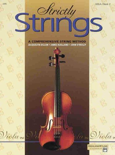 Strictly Strings, Bk 2 : Viola