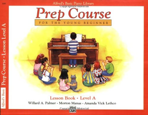 Alfred's Basic Piano Prep Course Lesson Book, Bk a 9780882848167