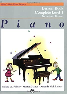 Alfred's Basic Piano Course Lesson Book: Complete 1 (1a/1b) 9780882848174