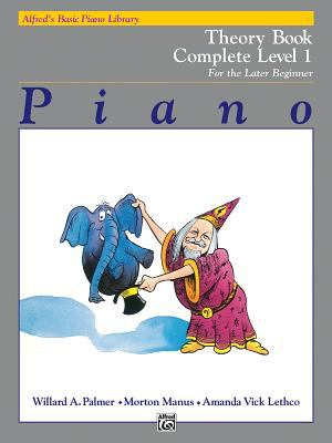 Alfred's Basic Piano Course Theory: Complete 1 (1a/1b)