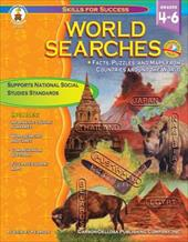 World Searches, Grades 4 - 6: Facts, Puzzles, and Maps from Countries Around the World 16472343