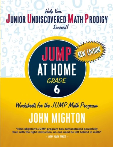 JUMP at Home, Grade 6: Worksheets for the JUMP Math Program 9780887849794