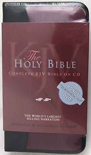 Alexander Scourby Bible-KJV 9780883688267