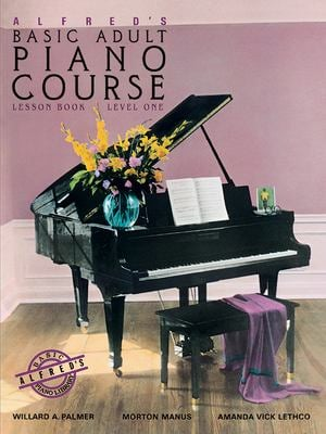 Alfred's Basic Adult Piano Course Level One: Lesson Book