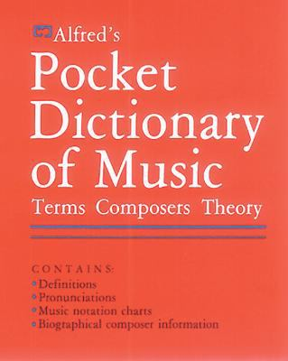 Alfred's Pocket Dictionary of Music 9780882843490