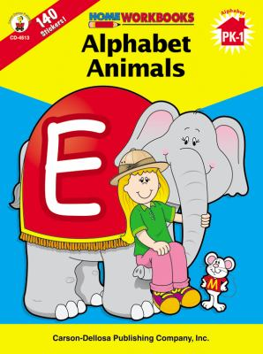 Alphabet Animals, Grades Pk - 1