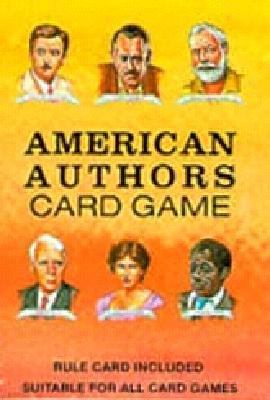 American Authors Card Game [With Rule Card Suitable for All Card Games] 9780880791649